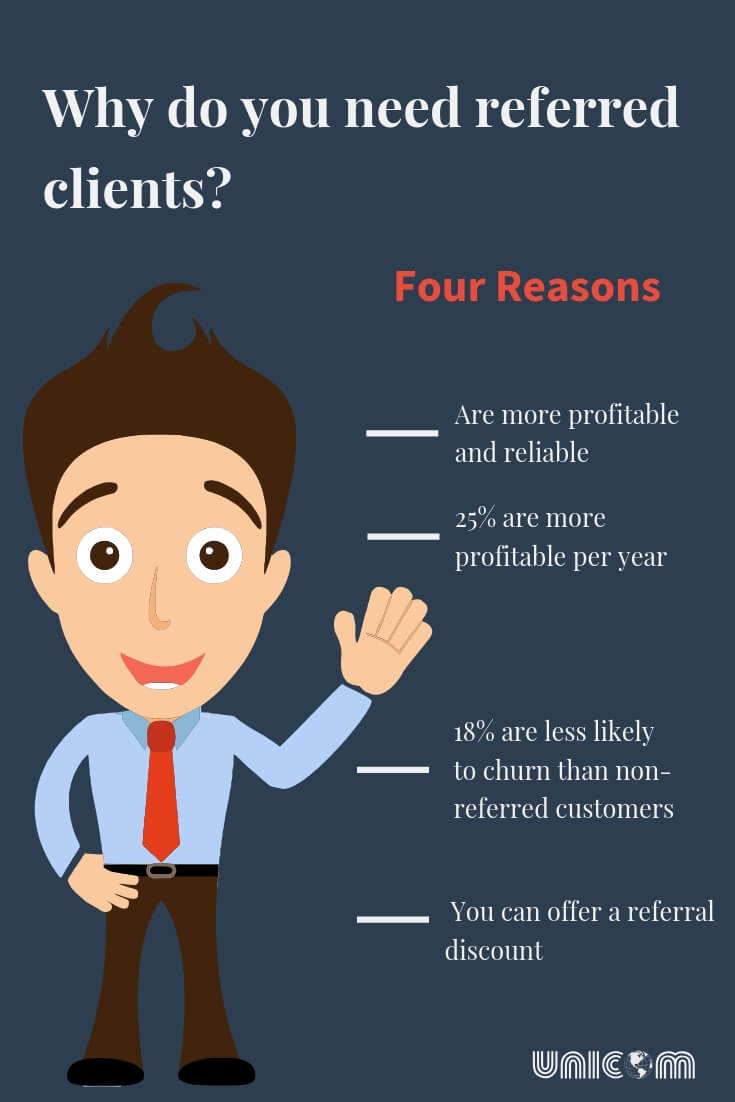 why do you need referred clients
