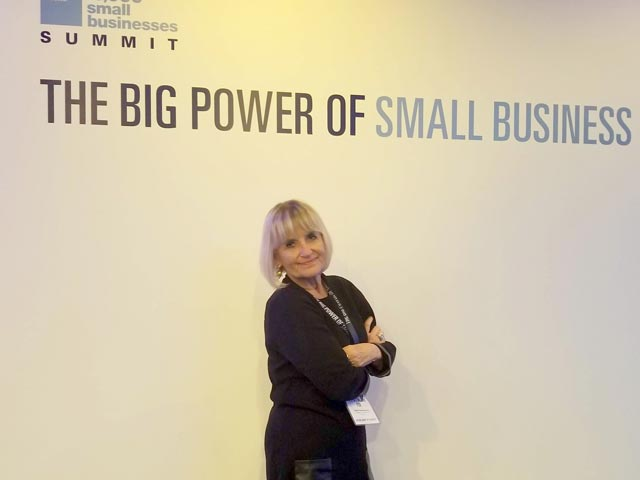 Patricia Fox at Goldman Sach's Businesses Summit