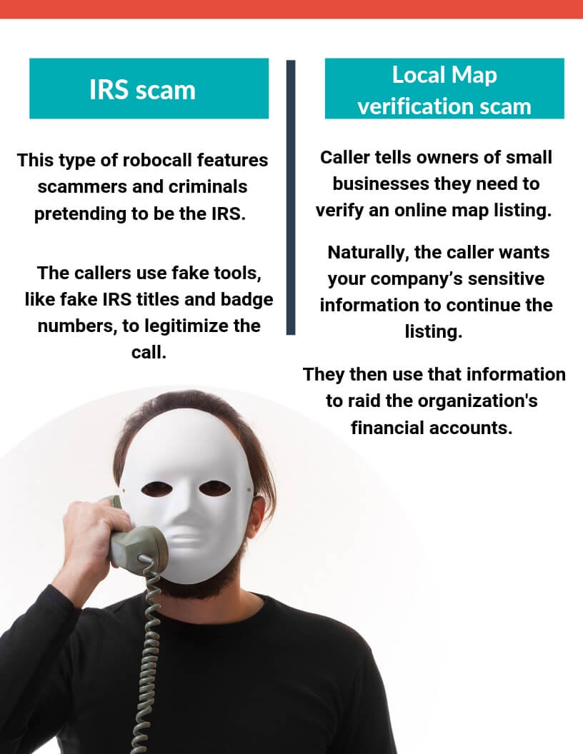 know a little more about the different types of Robocalls