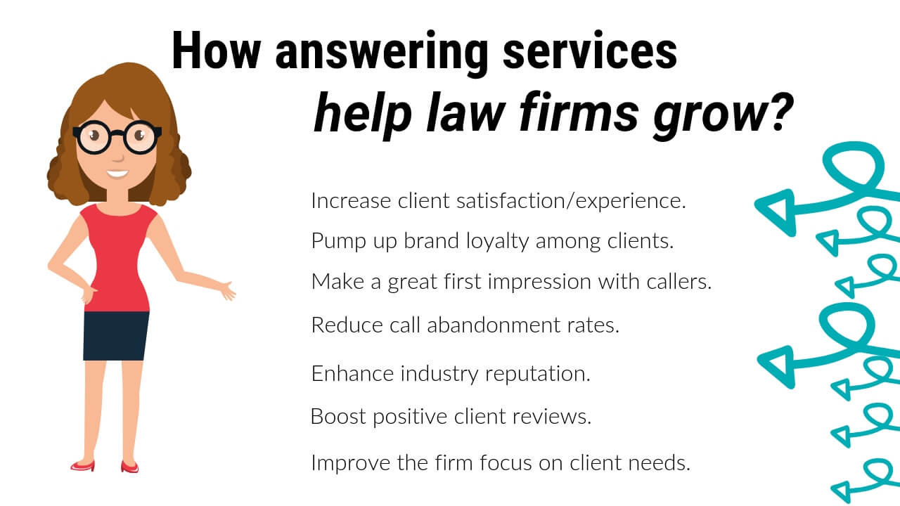 Seven ways answering services help law firms grow